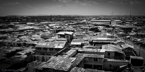 Scorci di Accra dalla cima del faro