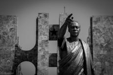 Kwame Nkrumah Memorial, in memoria del primo presidente della repubblica indipendente.