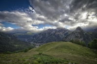 Panorama dal Mont de la Saxe