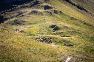 Sentiero verso la Val Ferret