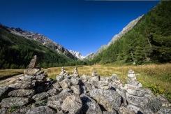 La valle morenica d'Arpette