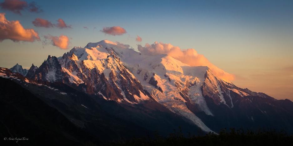 Monte Bianco al Tramonto