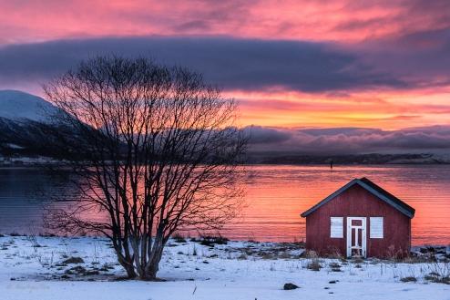 Norvegia, albe di mezzogiorno