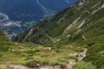 In discesa Verso Les Houches