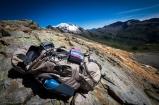 Col des Fours, splendida vista sulla valle e sulla Auguille du glaciers
