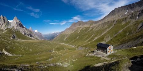 Col de Seigne dopo 7 giorni re 145 km rivedo l'Italia