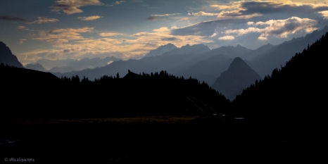 Alba sulla Val Veny