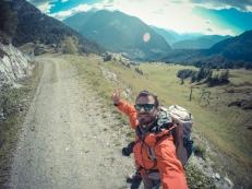 Courmayeur in vista Tour del Monte Bianco completato.