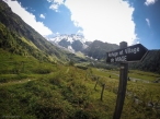 Val de Miage dominata dal Glacier du Miage, uno dei ghiacciai più colpito dal ritiro dei ghiacci