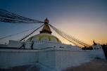 Tramonto sulla grande stupa