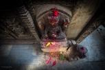 I tempietti indù sono frequenti fuori dalle rotte turistiche