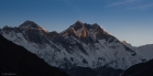 L'alba sulla parete dell'Everest