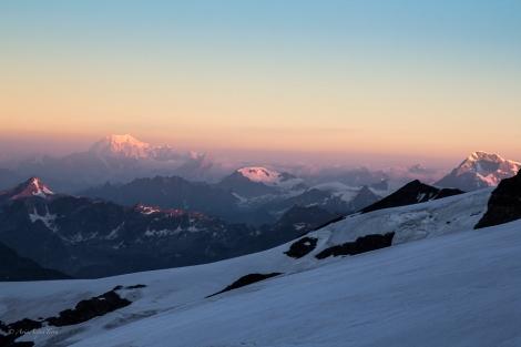 Alba a 4000 metri