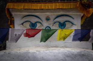 Gli occhi di Buddha